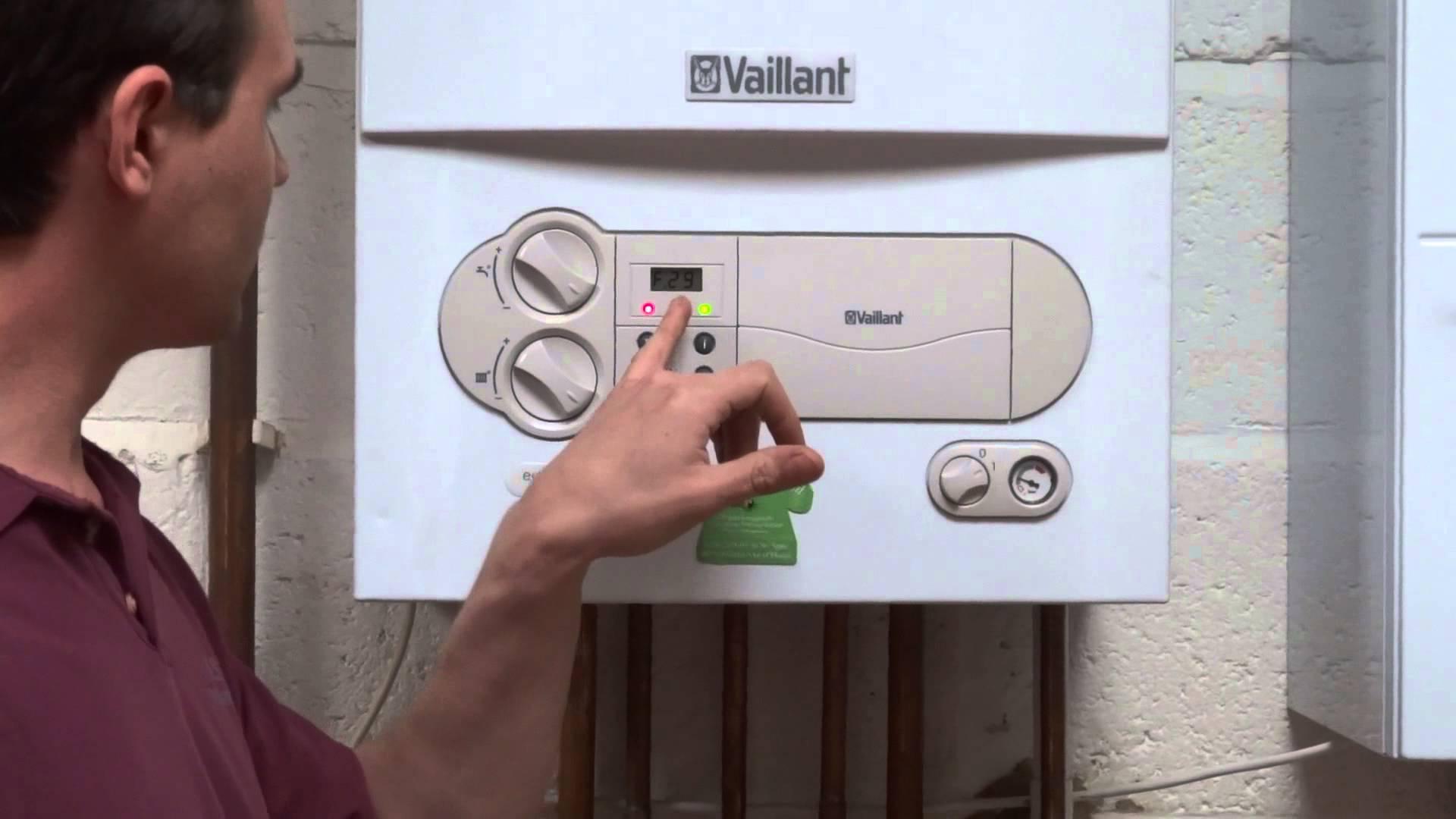 Газовый кател вайлантвыдает ошибку ф75