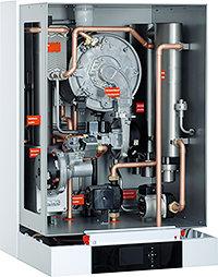 Ключевые узлы настенного газового котла